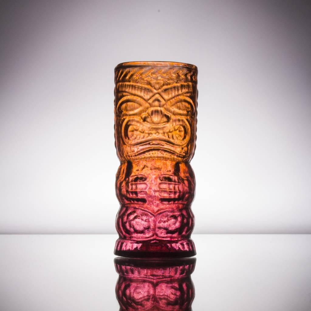 Hand blown glass original tiki mug the boston shaker glass tiki mug original stopboris Gallery