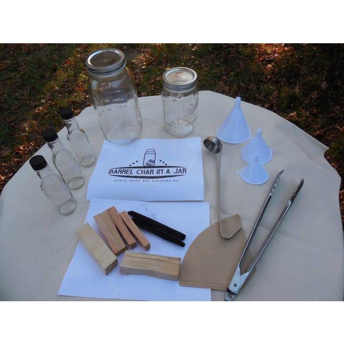Barrel Char in a Jar, Complete Spirit Aging Kit