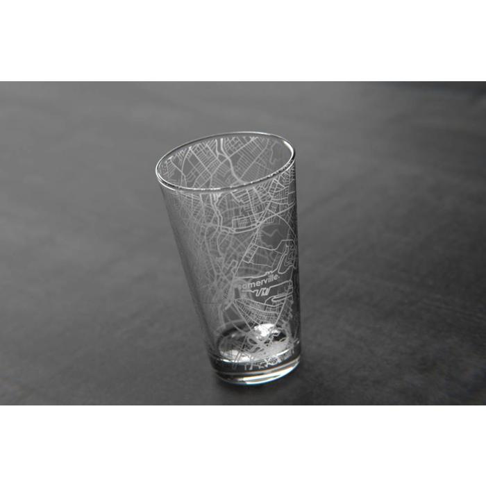 Maps Pint Glass - Somerville