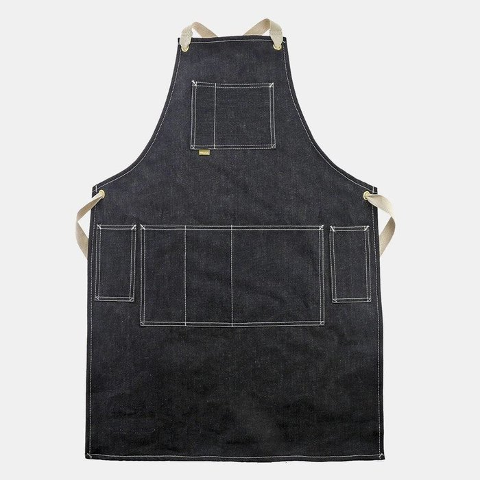 Canvas Strap Denim Apron