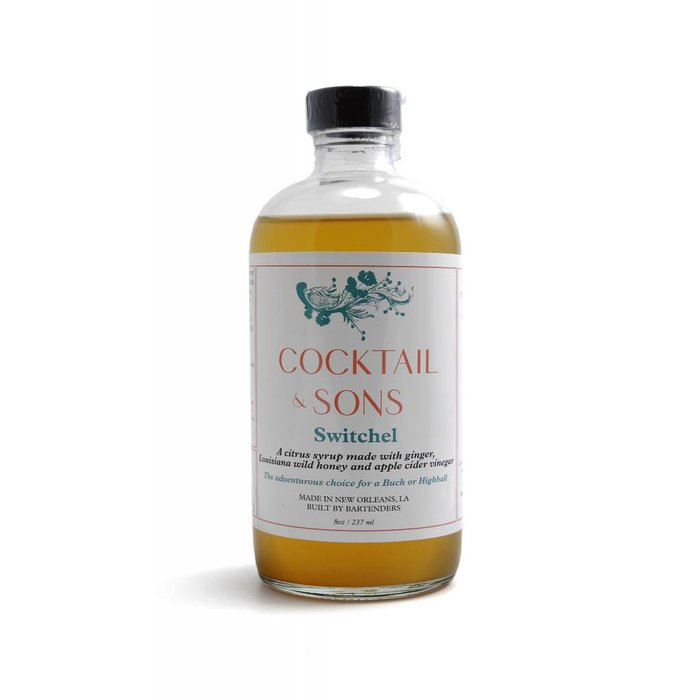 Cocktail and Son's Switchel Syrup, 8oz
