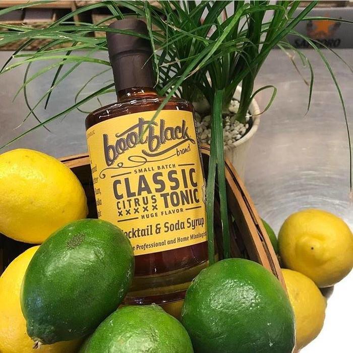 Bootblack Classic Citrus Tonic Syrup, 375ml