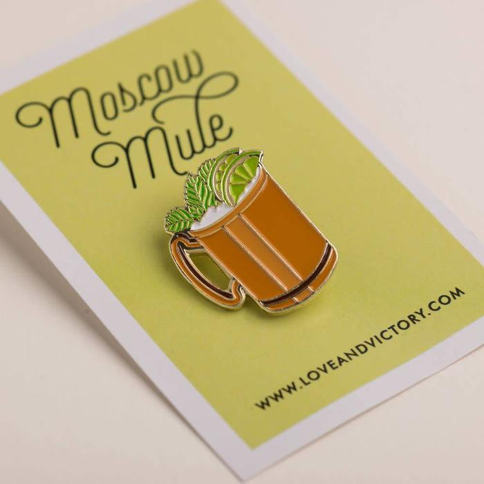 Love & Victory Moscow Mule Pin
