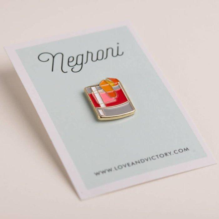 Love & Victory Negroni Pin
