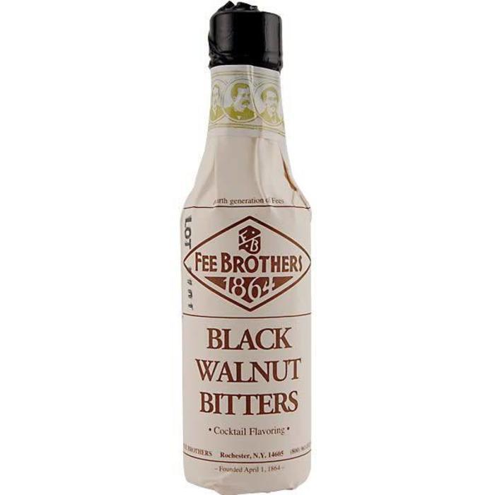 Fee Brothers Black Walnut Bitters, 4 oz.