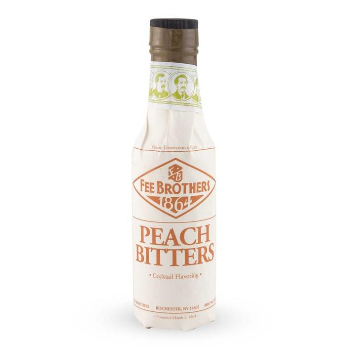 Fee Brothers Peach Bitters, 5 oz.