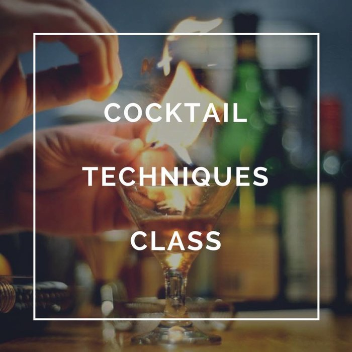 Craft Cocktail Techniques - Jan. 10th, 2018 - OUT OF STOCK