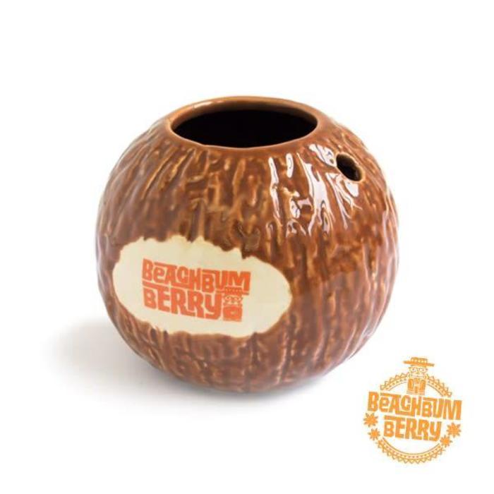 Beachbum Berry's Coconut Mug, 15oz Ceramic