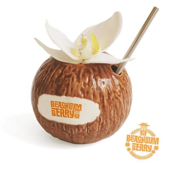 Beachbum Berry's Coconut Mug, 15oz Ceramic