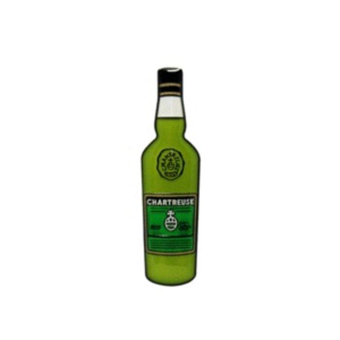 Green Chartreuse Pin, Enamel
