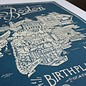 "Boston Map Print, 18"" x 24"