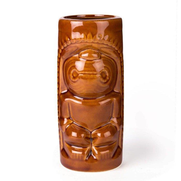 Brown Tiki Mug, 12 oz.
