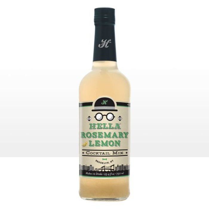 Hella Rosemary Lemon Cocktail Mixer, 750ml.
