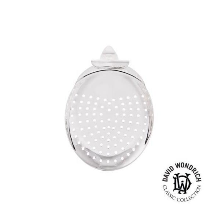 Hauck Julep Strainer, Silver-Plated