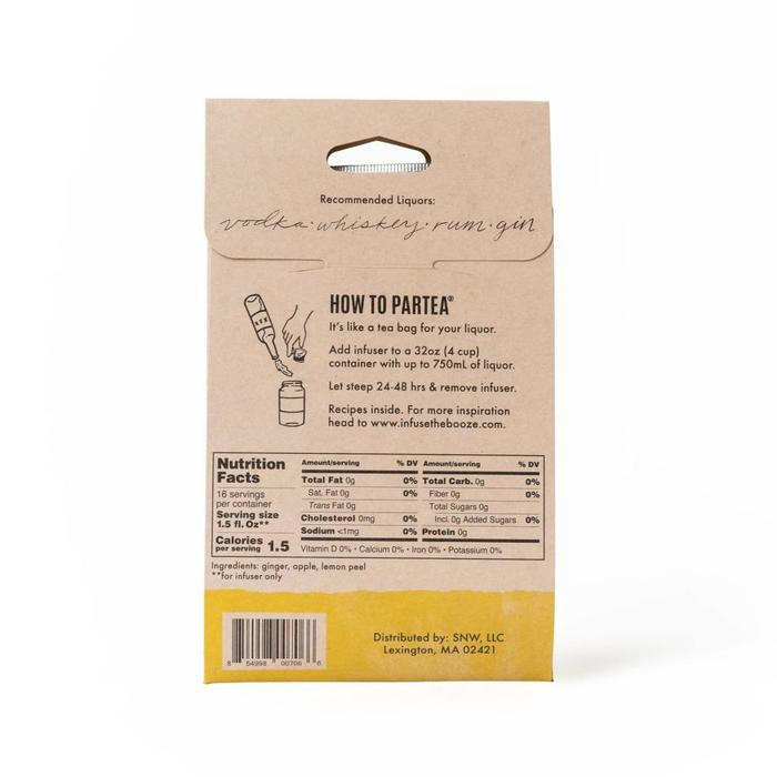 ParTea Time Booze Infusers, Ginger
