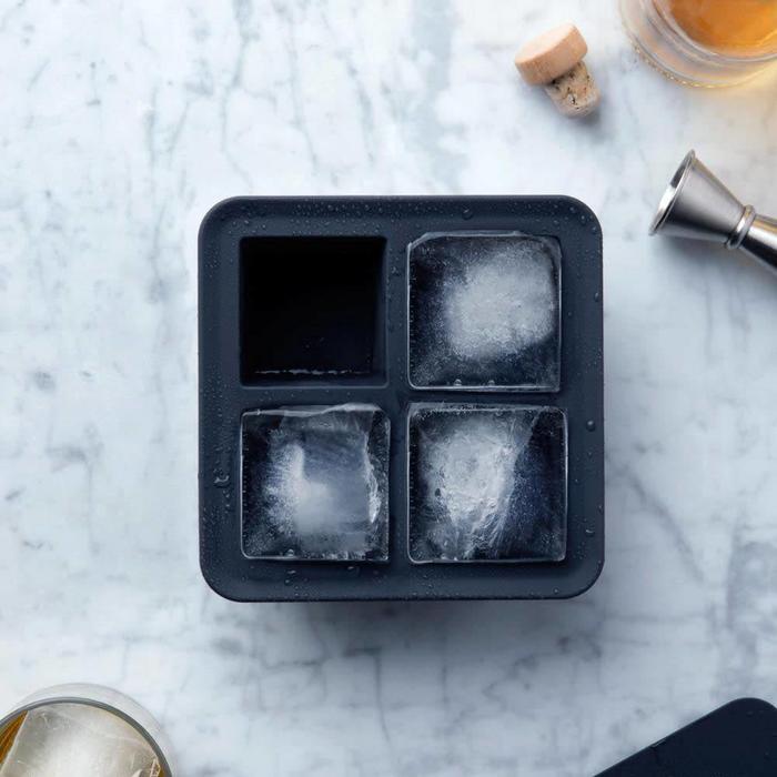 Peak Ice Works Extra Large Ice Cube Tray - Charcoal