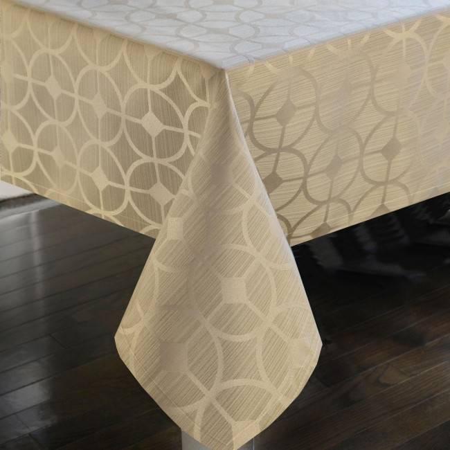 Harman Optic Tablecloth Tan 60 X 90