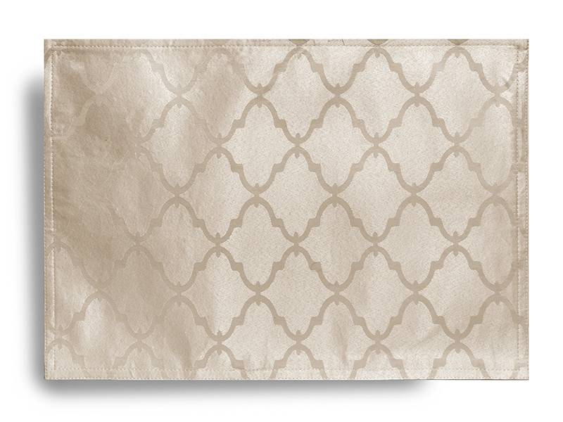 Harman Lattice Tablecloth Champagne 60 X 108