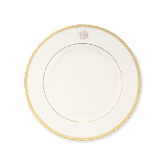 Pickard china Signature Monogrammed Dinner plate ...  sc 1 st  Timeless Table & Signature Monogrammed Dinner Plate - Timeless Table