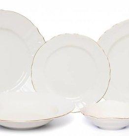 Bernadotte Ivory/Gold 20 pc set  sc 1 st  Timeless Table & Dinnerware sets - Timeless Table