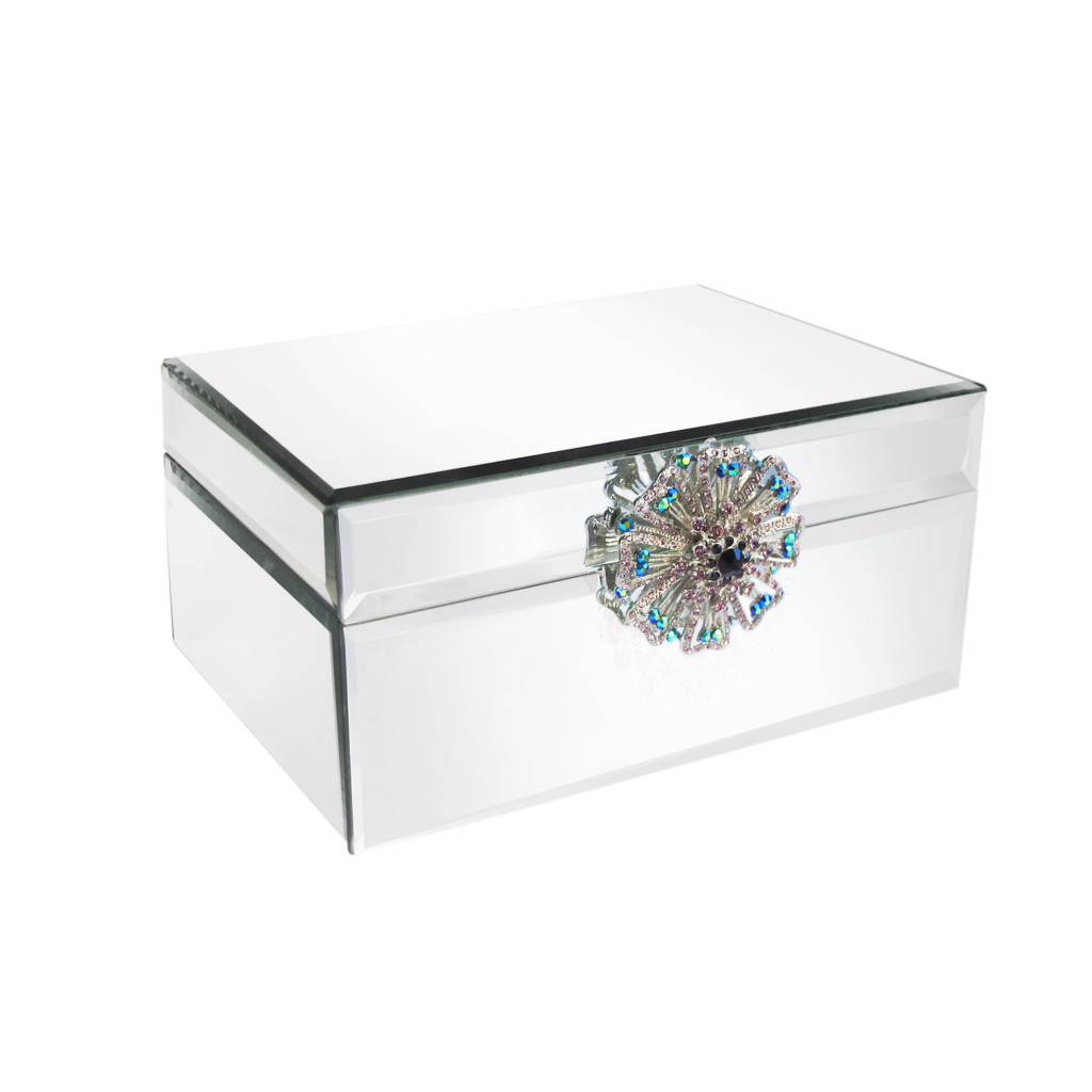 Mirror Jewelry Box with Brooch Timeless Table