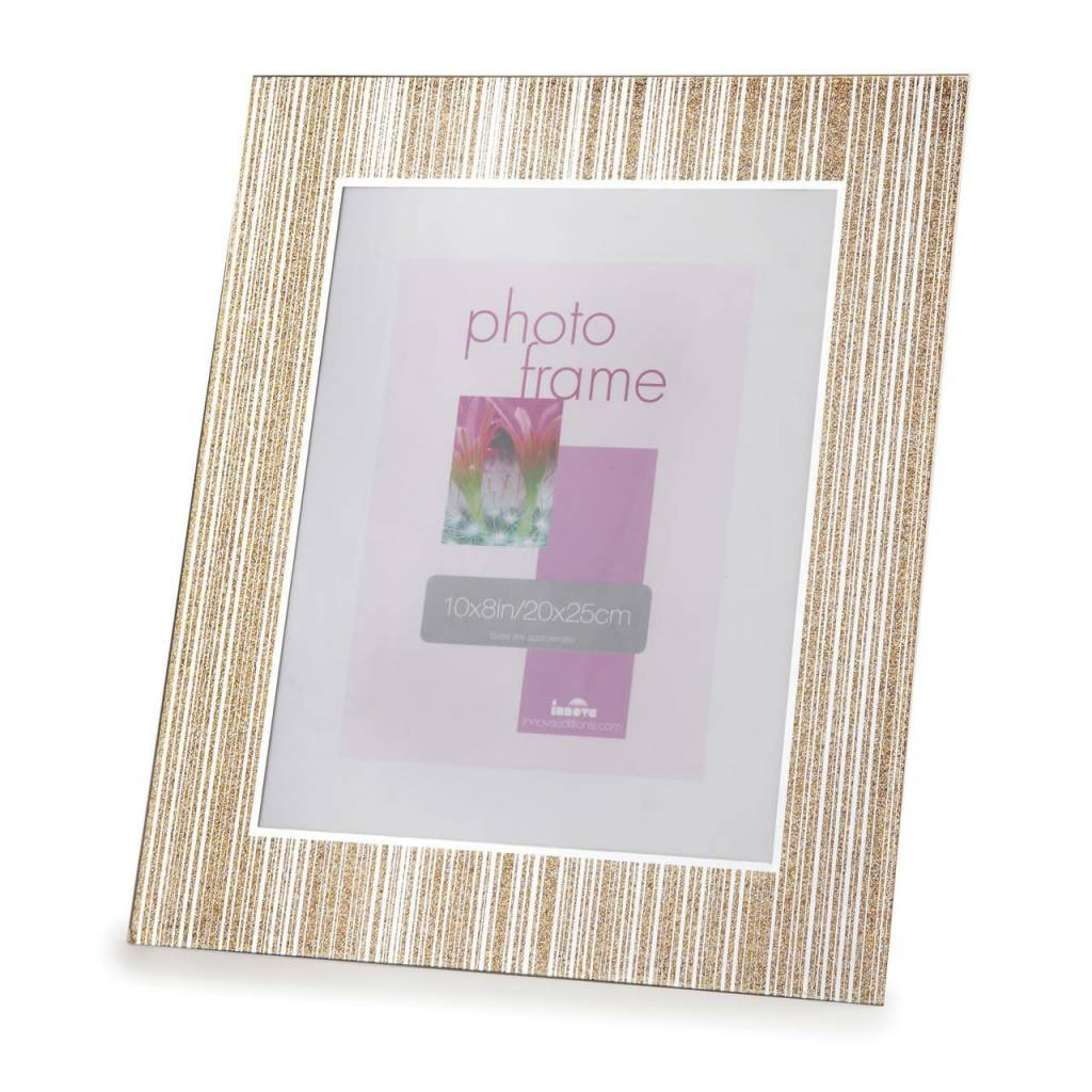 Gold Glittering Frame 8x10 - Timeless Table