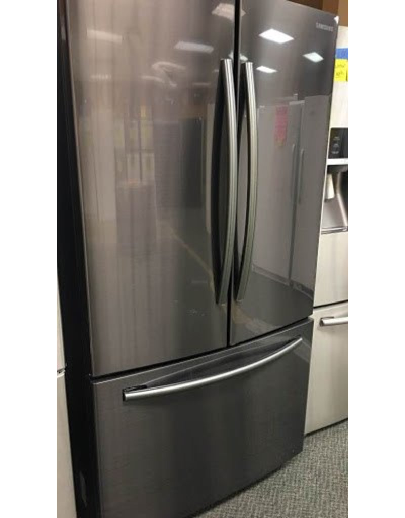 Samsung Sale Item Black Stainless French Door Fridge By Samsung