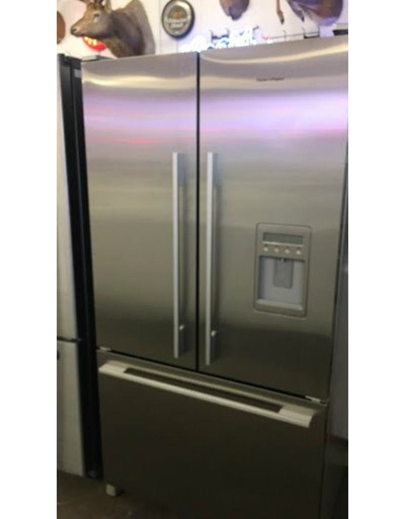 with depth door standard system refrigerator exterior cu french preserva water and inch ststkistdefr food stainless ft care ice width steel kitchenaid doors
