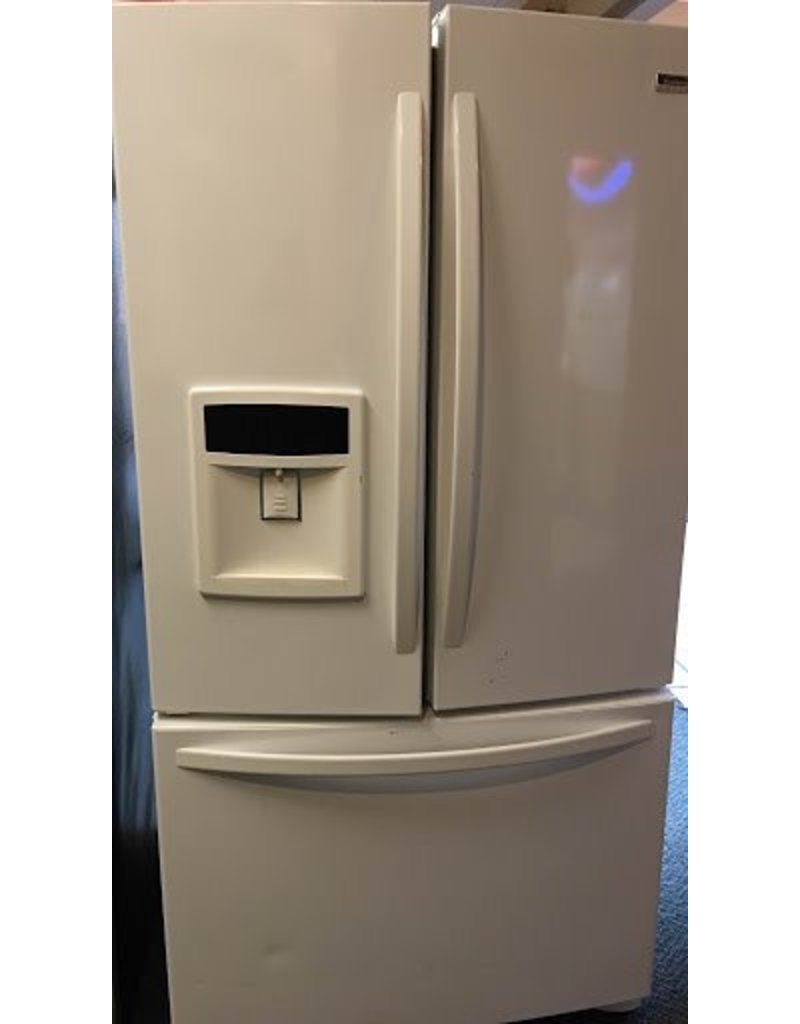 KENMORE ELITE WHITE FRENCH DOOR FRIDGE BY KENMORE ELITE ...