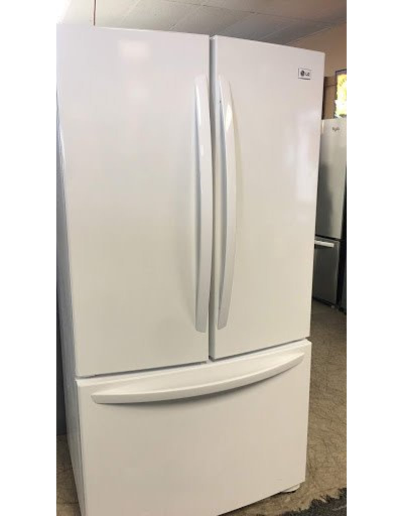 Lg Lg French Door Refrigerator In White Discount City Appliance