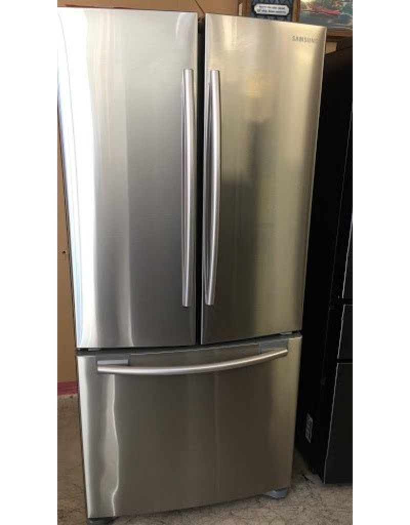SAMSUNG 2016 NARROW COUNTER DEPTH STAINLESS STEEL FRENCH DOOR FRIDGE W/ICE  MAKER BY SAMSUNG ...