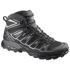 Salomon X Ultra Mid 2 GTX Mens Black/Black/Aluminium