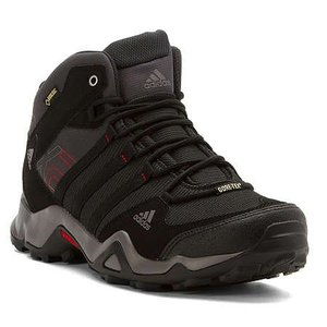Adidas AX2 Mid GTX Mens Dark Shale/Black/Light Scarlet