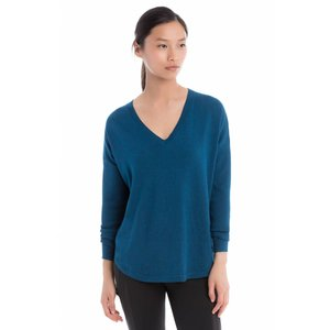 Lole Martha Sweater Womens Dark Marine Heahter