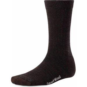 Heathered Rib Sock Mens Chestnut