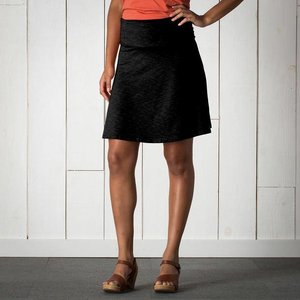 Toad & Co Chaka Skirt Womens Black