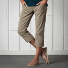 Landscape Crop Womens Dark Chino