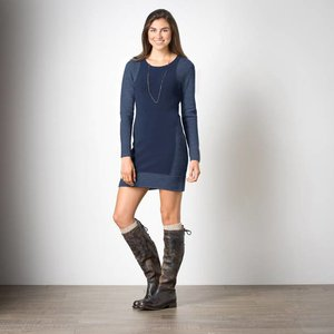 Toad & Co Kaya Sweaterdress Womens Deep Navy