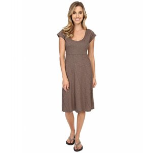 Nena 3/4 Dress Womens Falcon Brown