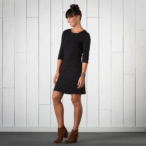 Toad & Co NIXI DRESS BLACK