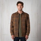 Toad & Co Kodiak Quilted Overshirt Mens Acorn