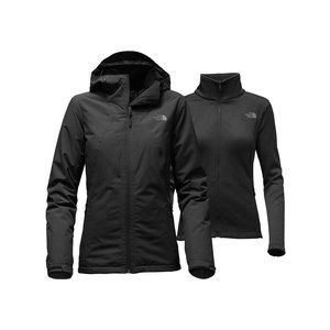 The North Face WOMEN'S HIGHANDDRY TRICLIMATE JACKET TNF Black