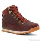 The North Face MEN'S BACK-TO-BERKELEY REDUX LEATHER Brick House Red/Desert Palm Brown