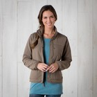 Toad & Co Aerium Bomber Jacket Womens Falcon Brown