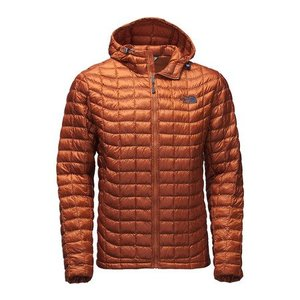 The North Face MEN'S THERMOBALL HOODIE Gingerbread Brown
