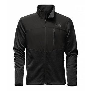The North Face MEN'S NORRIS FULL ZIP TNF Black Heather/TNF Black/Asphalt Grey