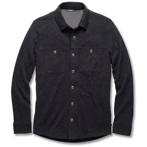 Toad & Co MEN'S SIDECAR OVERSHIRT BLACK HEATHER