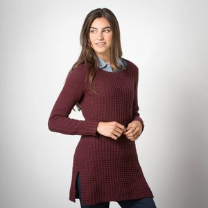 Toad & Co Kinley Sweater Tunic Womens Vino