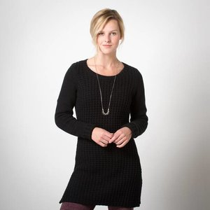 Toad & Co Kinley Sweater Tunic Womens Black