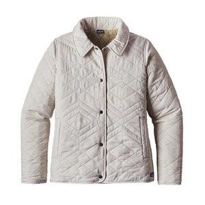 Patagonia Women's Quilted Los Gatos Jacket Bleached Stone